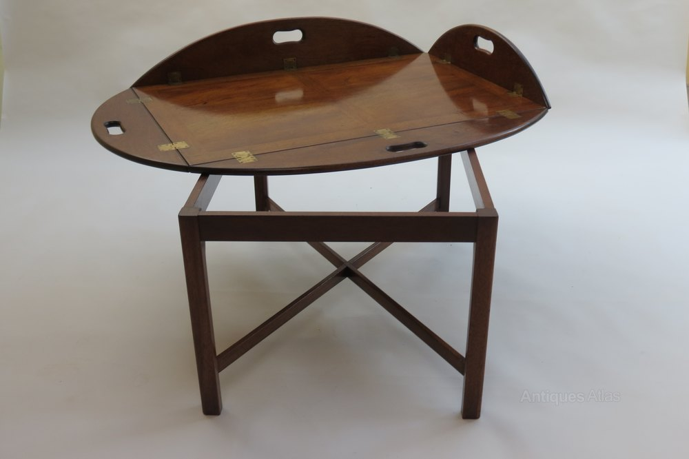 Antiques Atlas 1960s Mahogany Butlers Tray Coffee Table