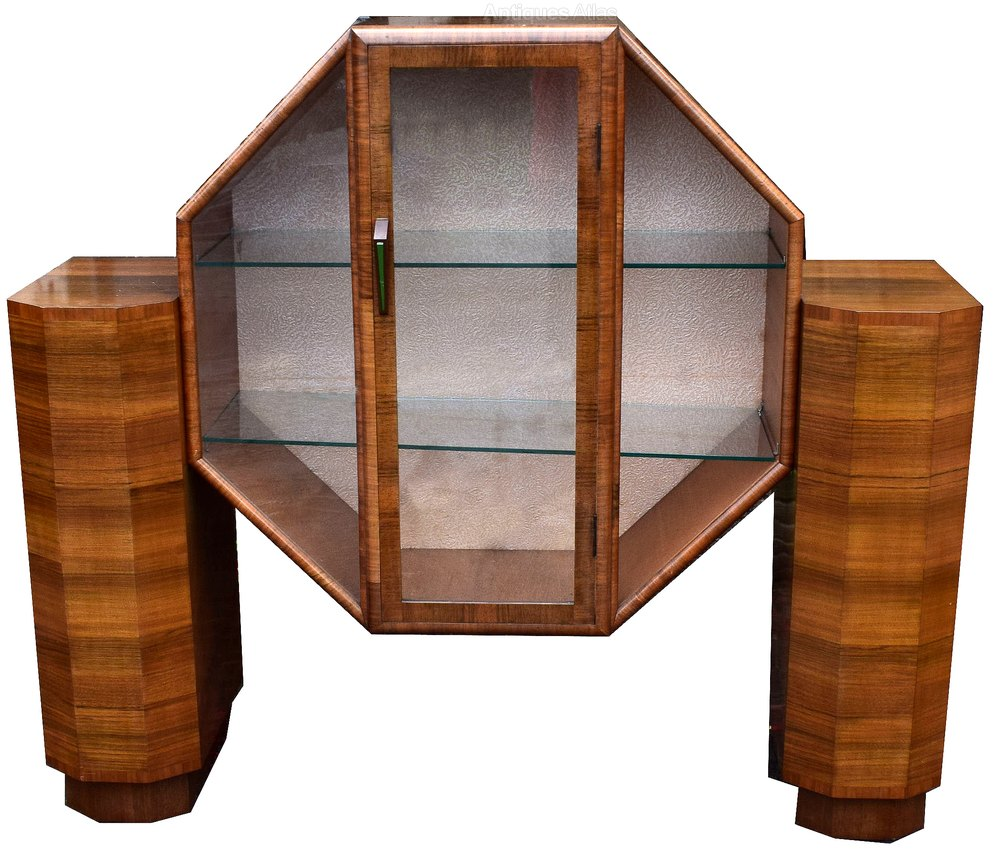1930 S Art Deco Display Cabinet Antiques Atlas
