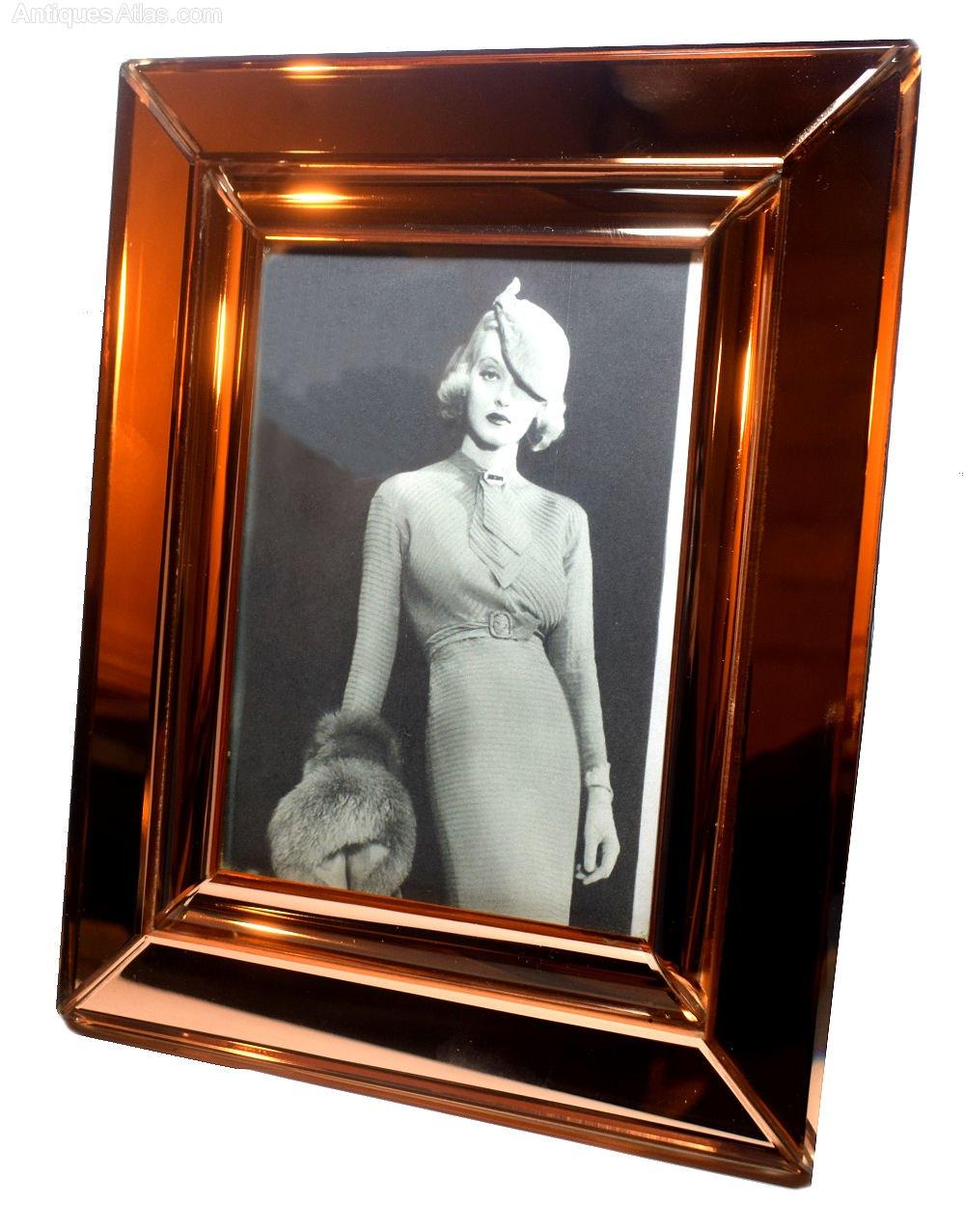 Antiques Atlas 1930 S Art Deco Mirror Picture Frame