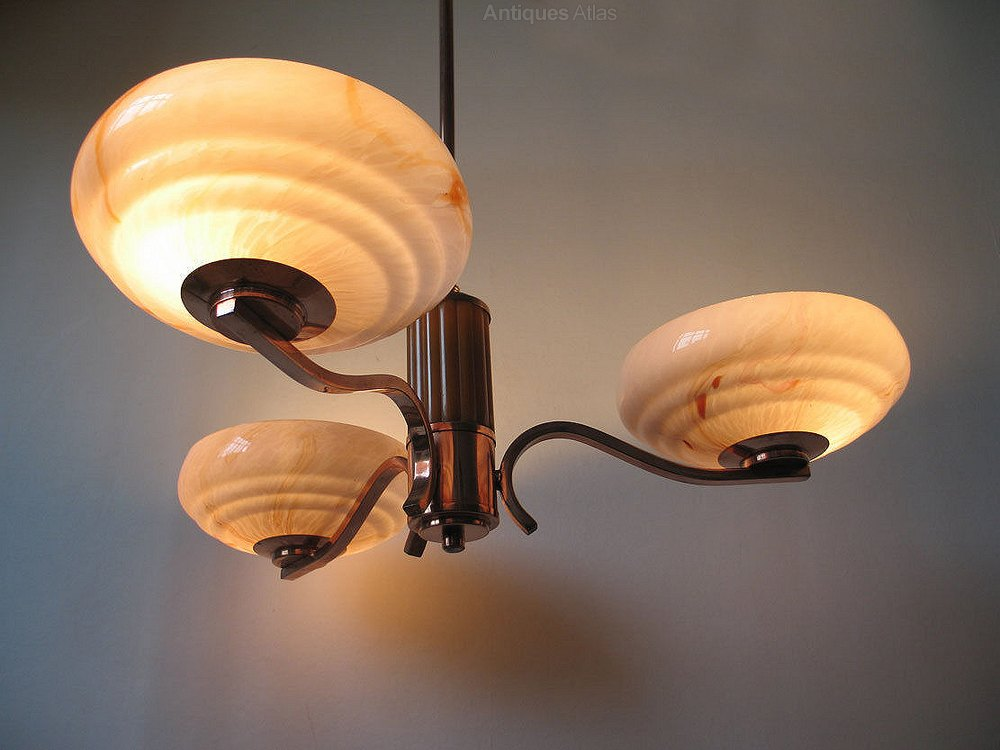 Antiques Atlas Art Deco Catalin Bakelite Ceiling Light