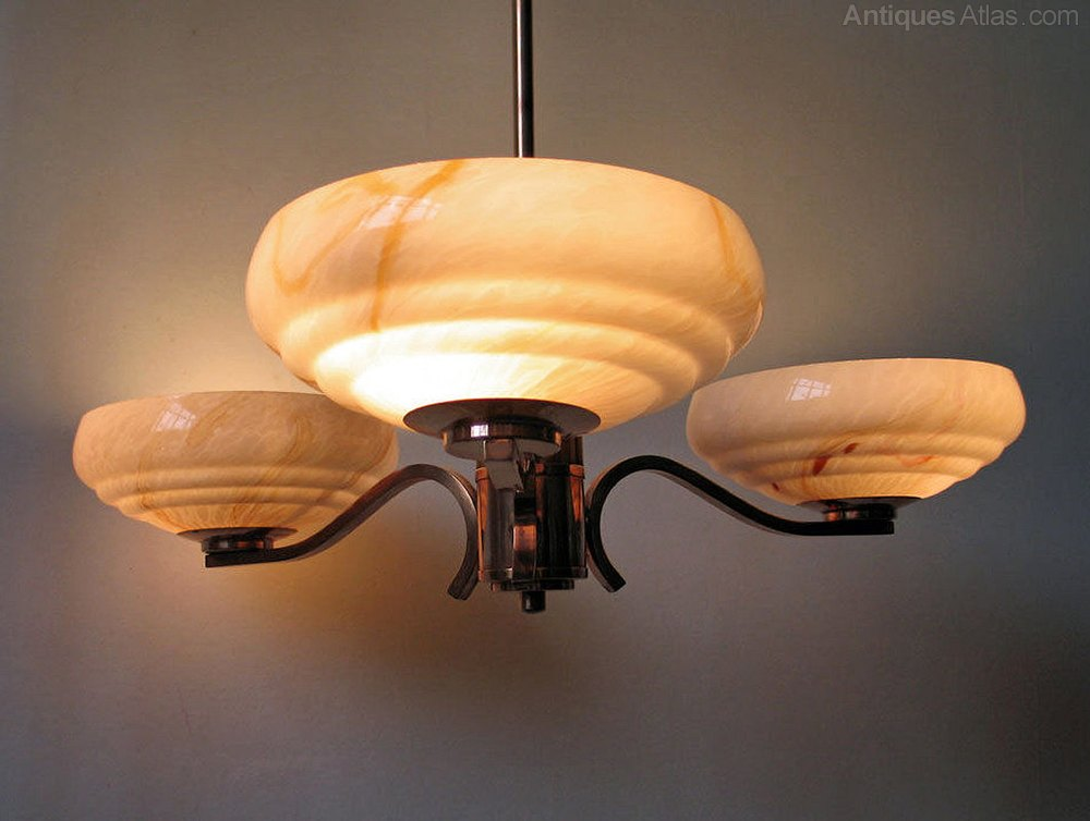 Antiques Atlas Art Deco Catalin Bakelite Ceiling Light