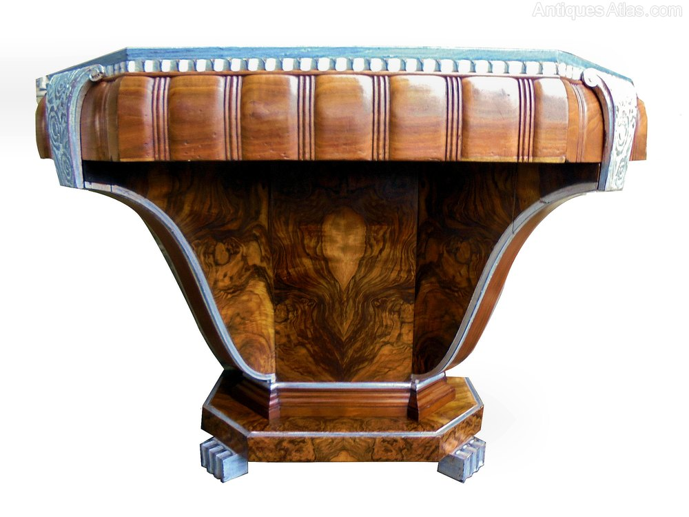 art deco english console table circa 1932 antiques atlas. Black Bedroom Furniture Sets. Home Design Ideas