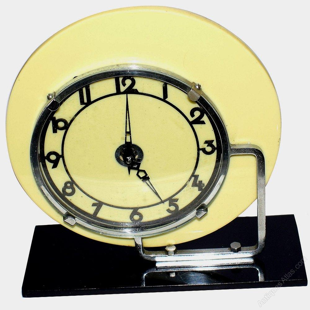 Art Deco Wall Clock at Home and Interior Design Ideas