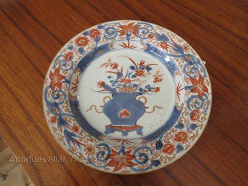 Chinese Porcelain Kangxi Imari Plate & Antiques Atlas - Chinese Porcelain Kangxi Imari Plate