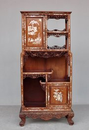 Antiques 1900 Indochinese Cabinet