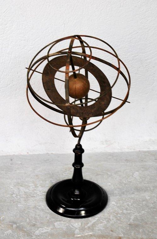 Antiques Atlas Armillary Sphere, Antique Armillary Sphere