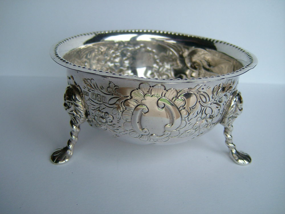 Irish Silver Bowl Samuel Le Bas Dublin