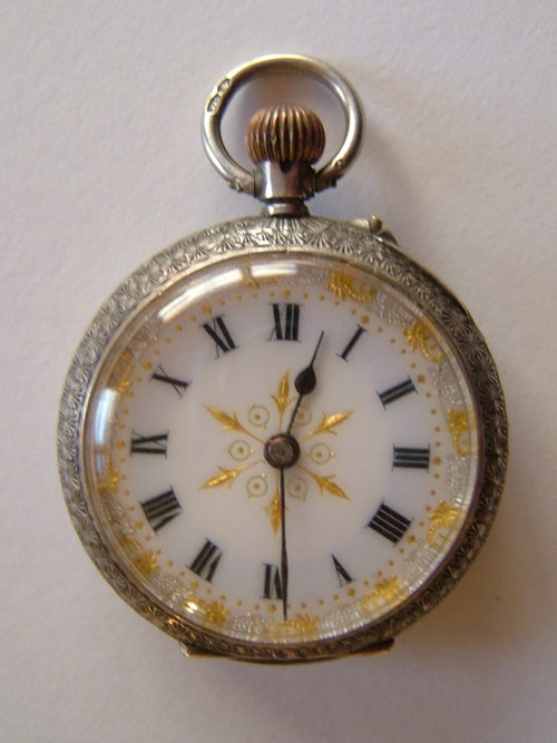 silver pocket watches antique