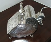 Silver Plated Sugar Scuttle by