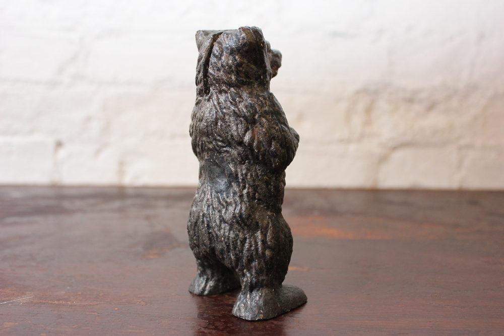 Antiques Atlas - 19thC Cast Iron Black Bear Money Box