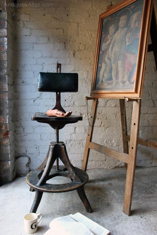Dealer Com Login >> A Good C.1900 Artist's Chair By Glenister - Antiques Atlas