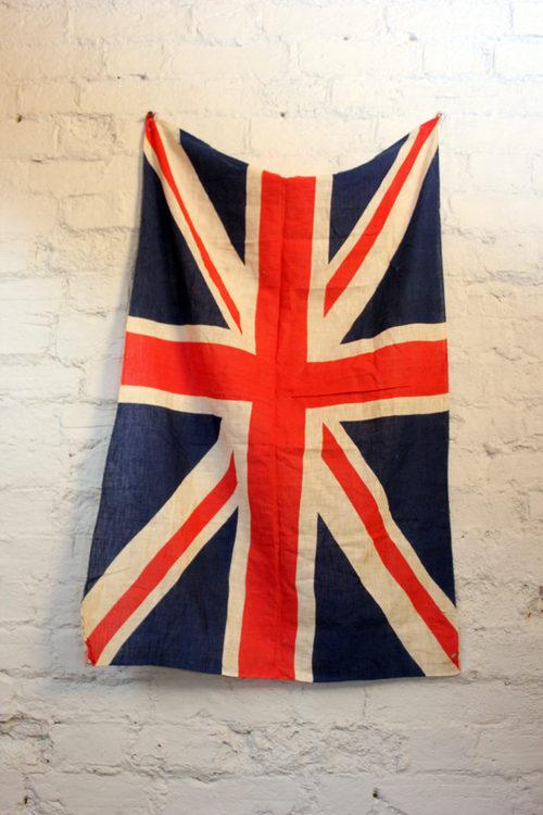 Antiques Atlas British Antique Vintage Union Jack Flag C1940
