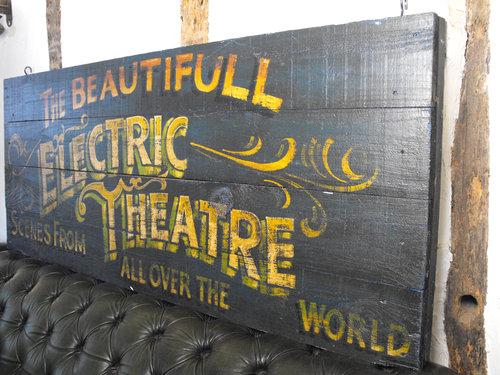 Circus Fairground Electric Theatre Sign Antiques Atlas