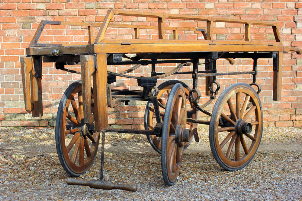 Antiques Atlas Good C 1900 Funeral Bier From Shepton