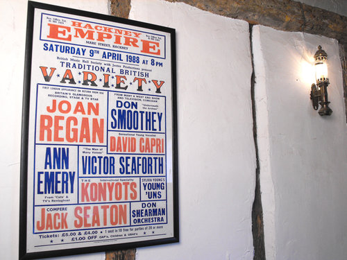 Antiques Atlas Hackney Empire Billboard Theatre Poster