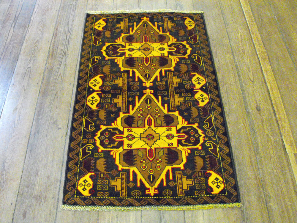 Antiques Atlas Herat Belouche Rug Carpet 146cm X 92cm