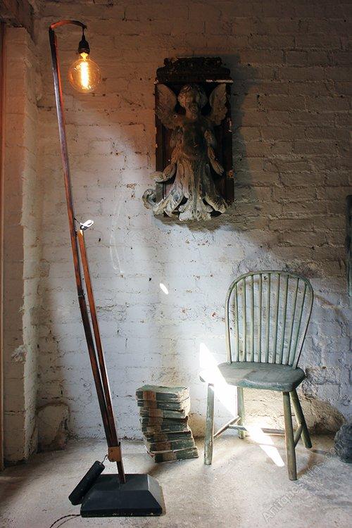 Antiques Atlas Swedish Scratch Built Cantilever Floor Lamp