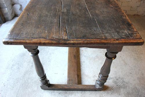 Wonderful 17thc English Oak Refectory Table Antiques Atlas