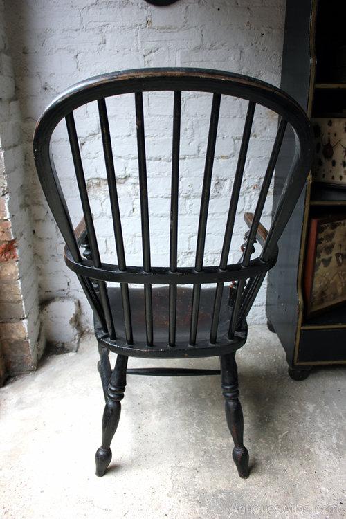 ... Cornish Windsor Armchair ...