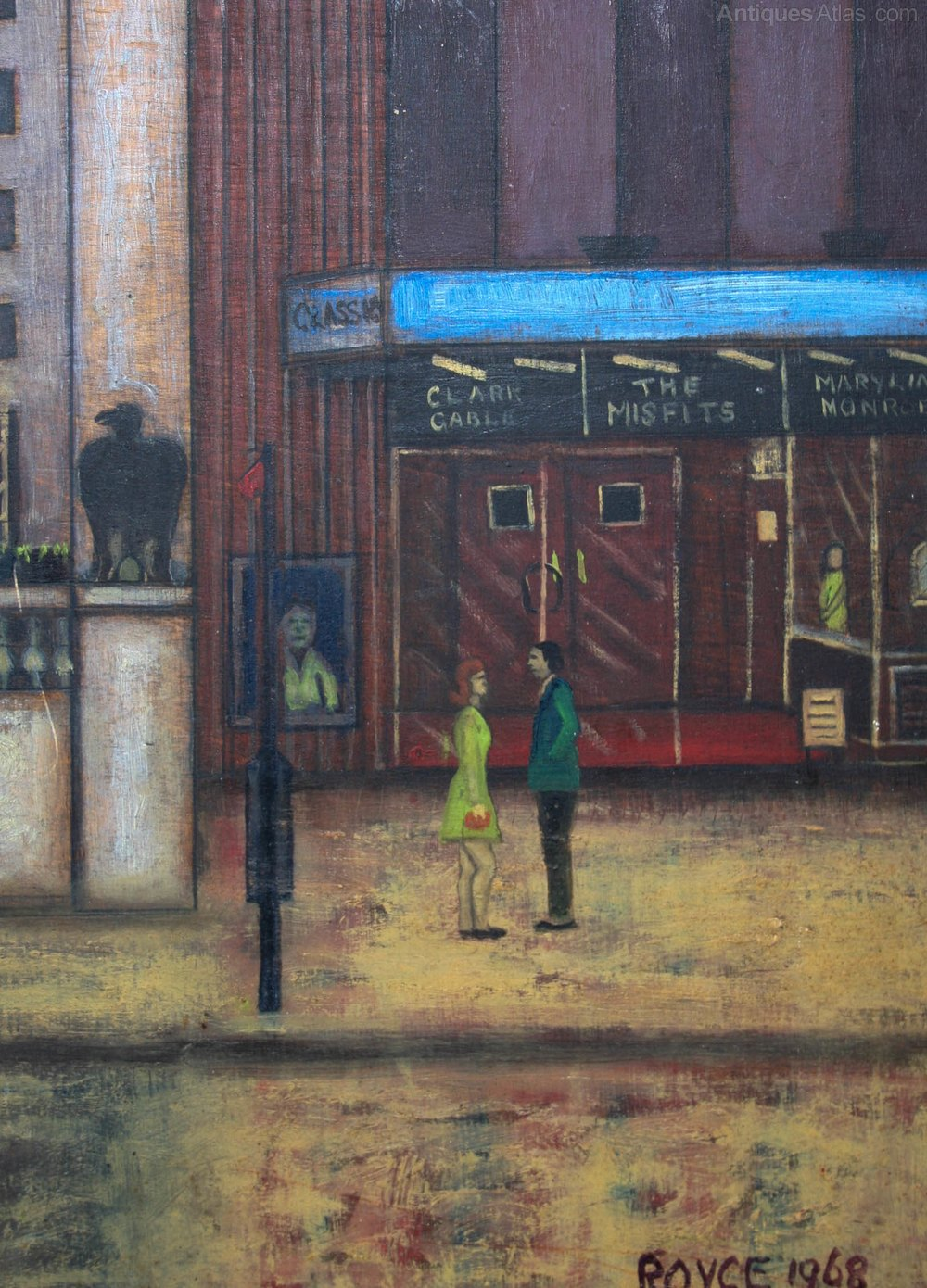 Road King For Sale >> Antiques Atlas - 1960s Painting-The Pheasantry, Kings Road ...