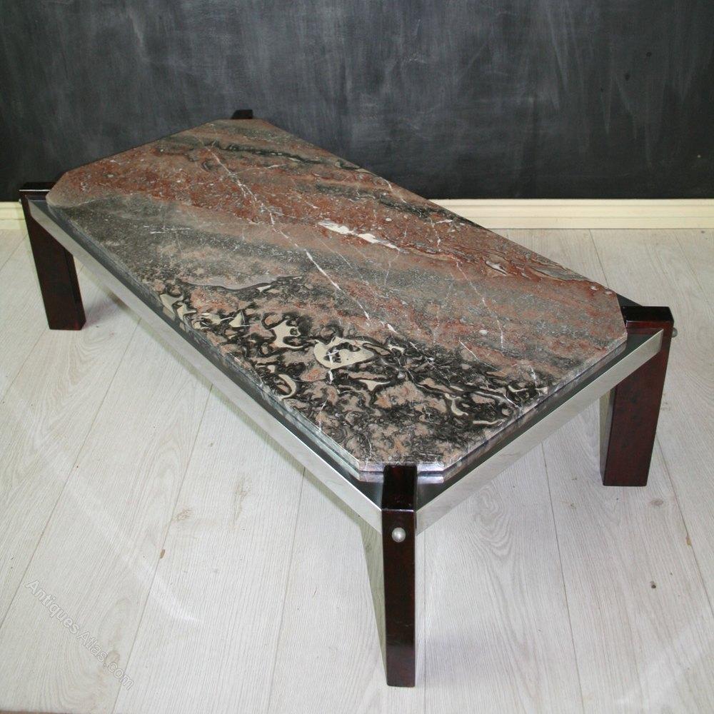 Antiques Atlas Vintage Italian Marble Top Coffee Table