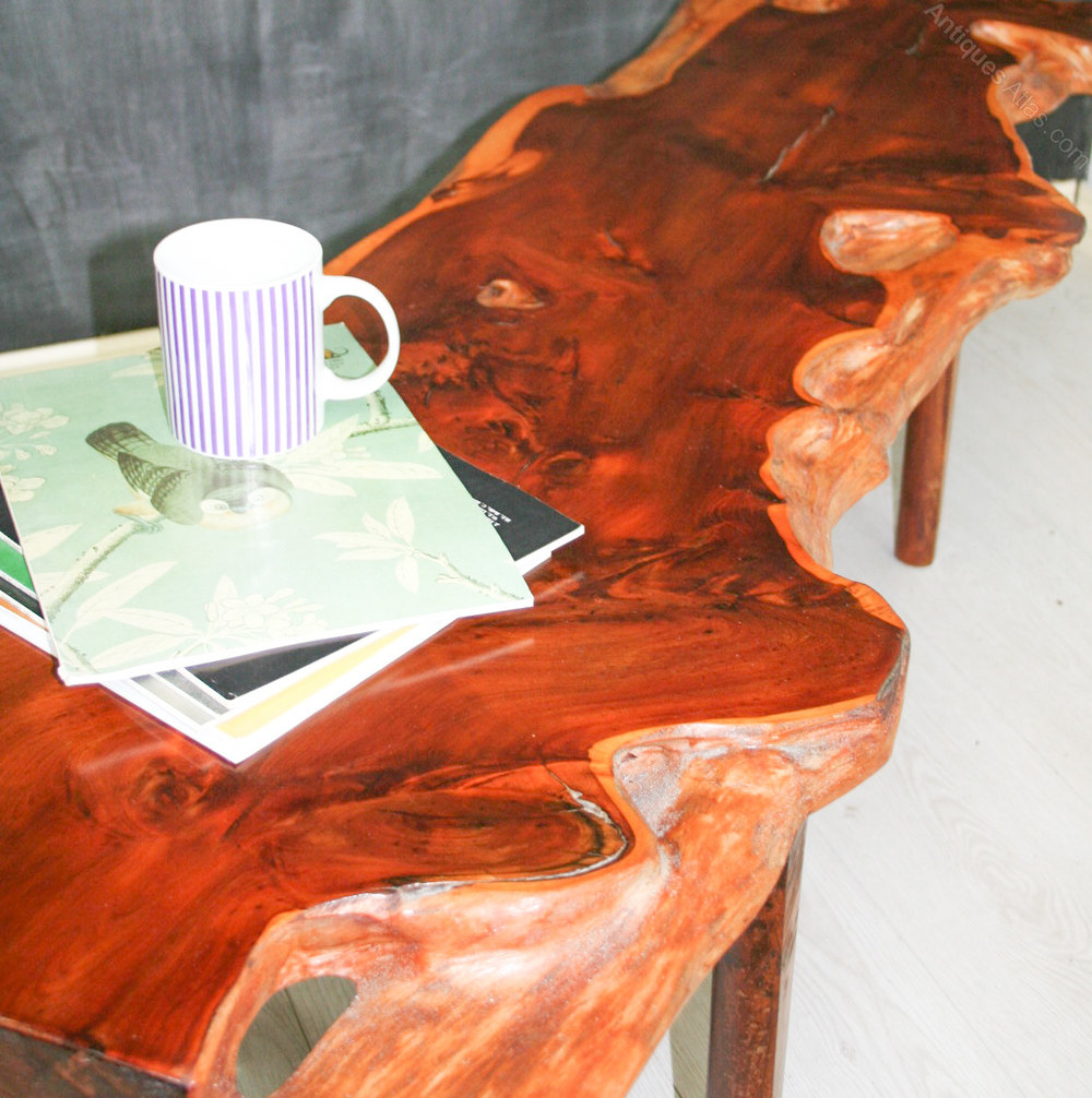 Vintage Plank Coffee Table By Reynolds Of Ludlow