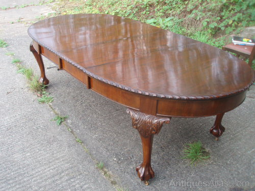 Chippendale-style Dining Table - Chippendale-style Dining Table - Antiques Atlas
