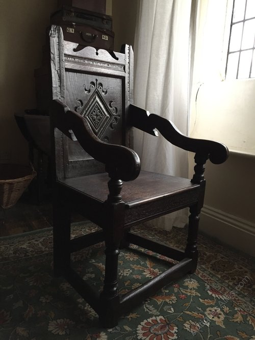 A Late 17th Century Wainscot Chair
