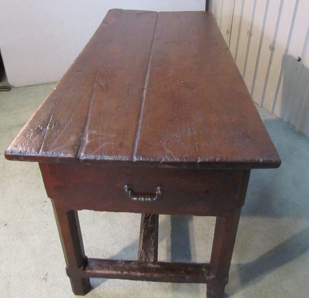 b92076f88bcd 18th Century French Oak Farmhouse Table Antique Farmhouse Tables