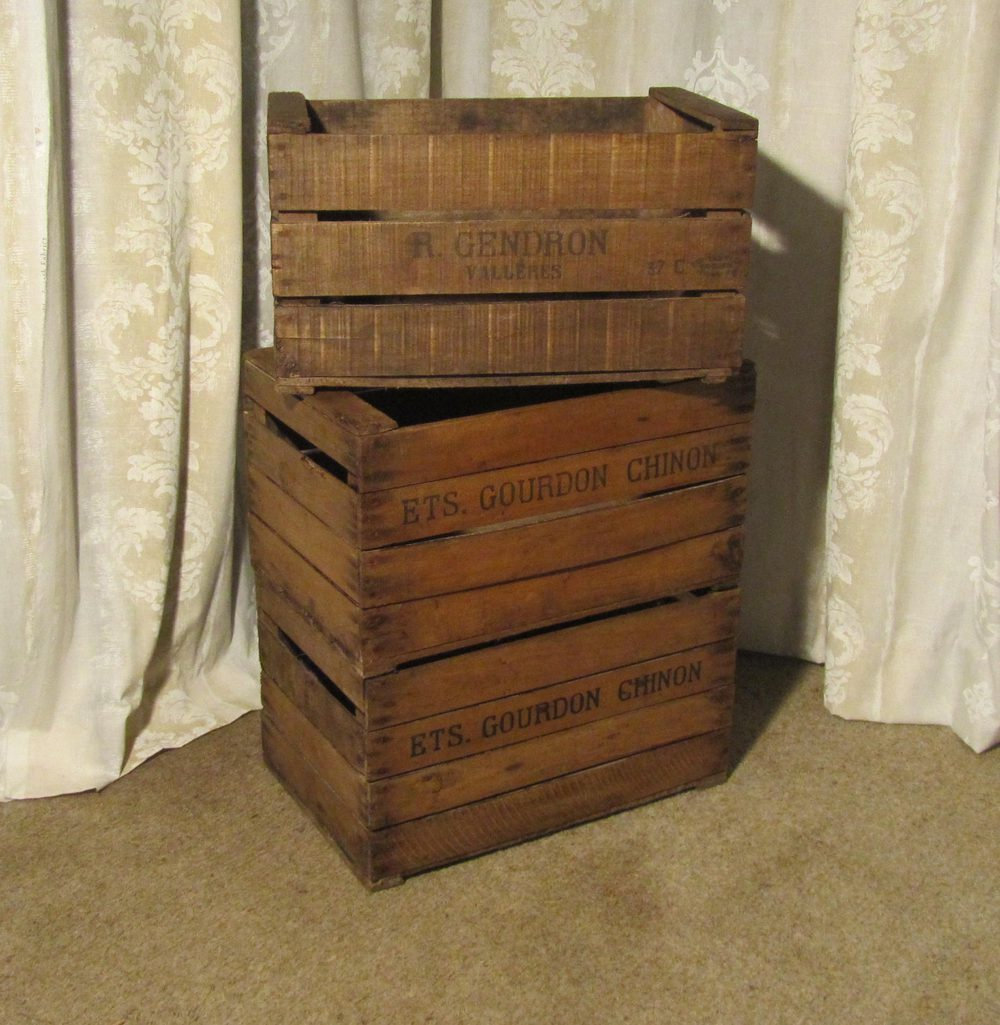 Charmant ... Apple Crate Antique And Vintage Fruit Boxes And Crates