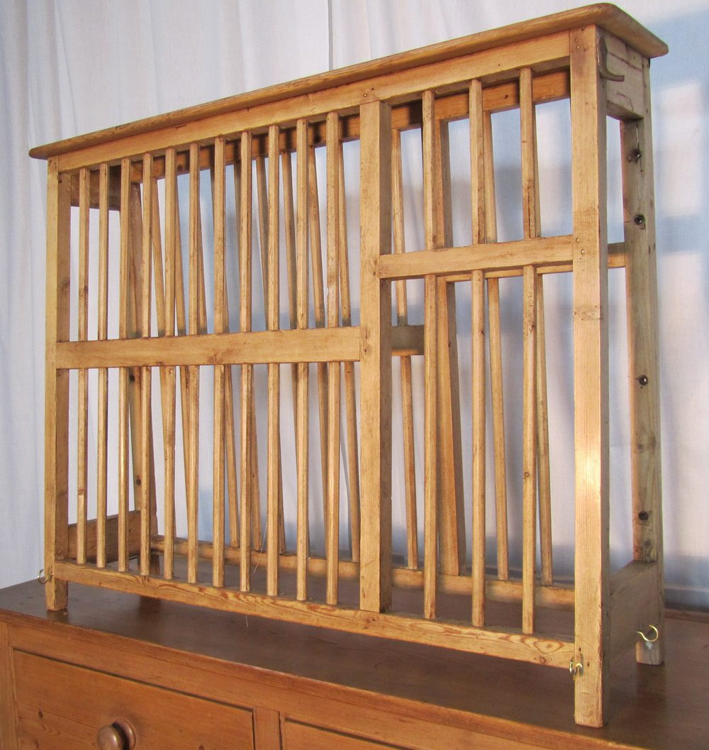 A Georgian Pine Plate Rack Antiques Atlas