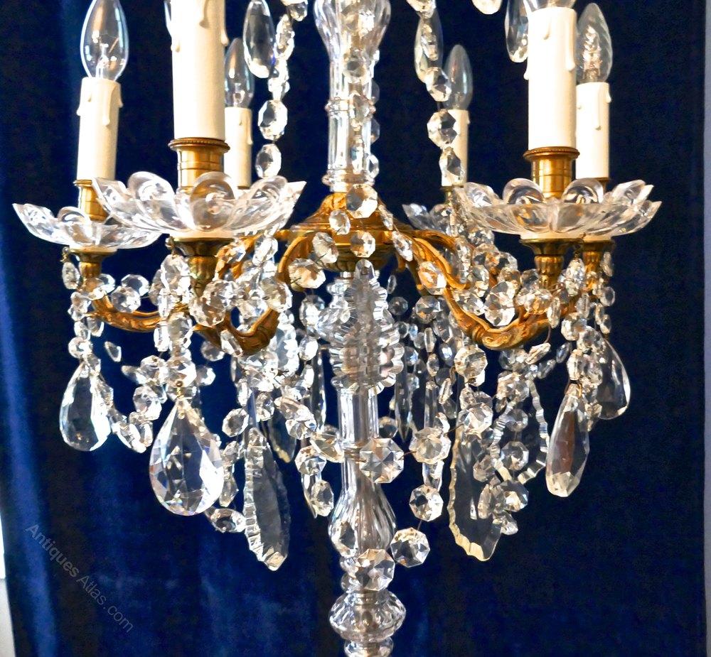 Antiques Atlas French Chandelier Floor Standing Lamp