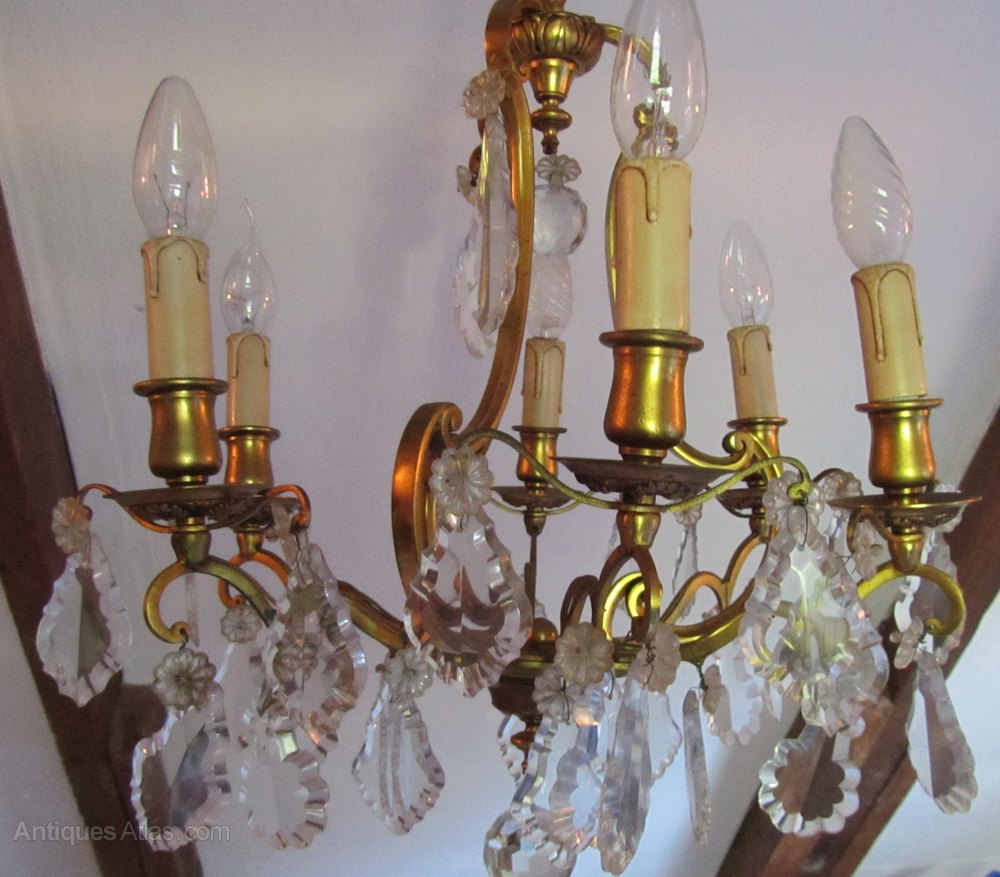 Ideal  Antique Lighting Antique French Chandeliers