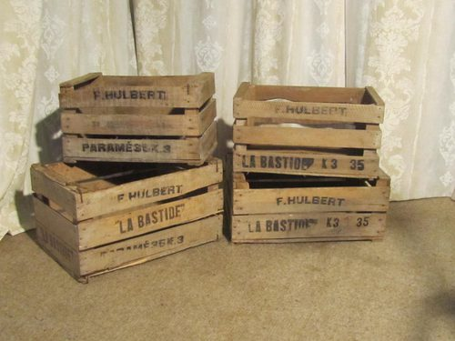 Antiques Atlas French Wooden Fruit Boxes Or Vegetable Crates