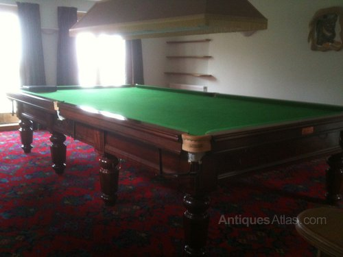 Antiques atlas full size e j riley of accrington snooker for 12ft snooker table for sale