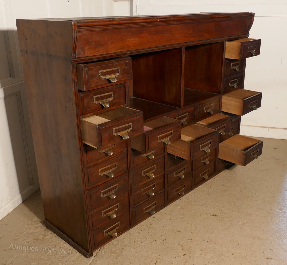 Large Mahogany Filing Cabinet By Shannon Antique Filing Cabinets %%alt5%%  ...