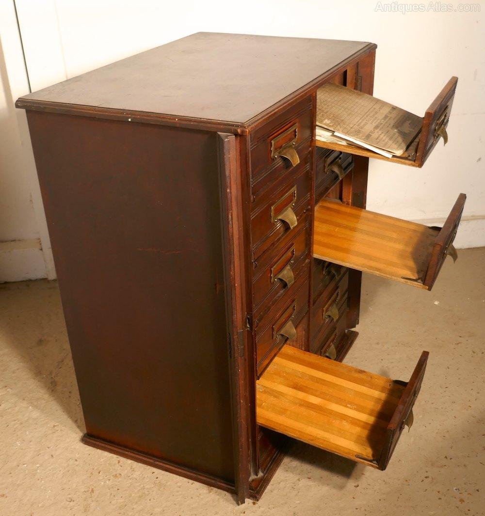 Photos. Mahogany Filing Cabinet ...