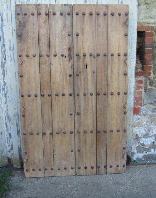 - Antiques Atlas - Pair Original 19th C Spanish Double Doors