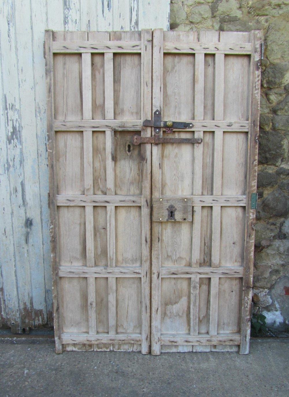 Pair Original 19th C Spanish Double Doors Antique Doors and Doorways ... - Antiques Atlas - Pair Original 19th C Spanish Double Doors