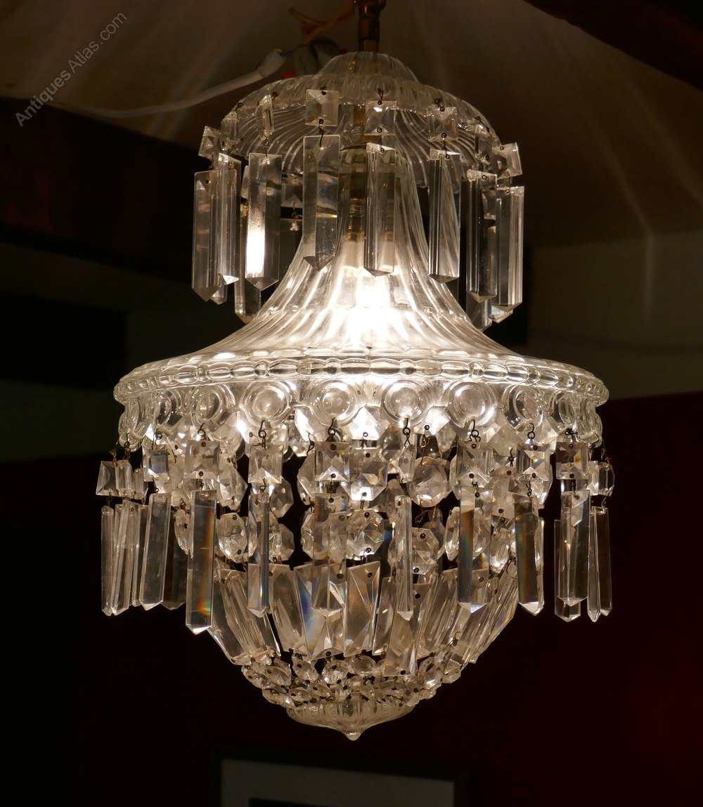 Petite waterfall basket baccarat chandelier petite waterfall basket baccarat chandelier aloadofball Gallery