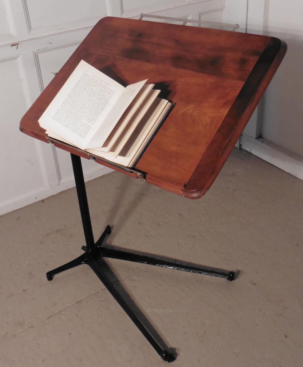 Reading Stand Over Bed Table Fireside
