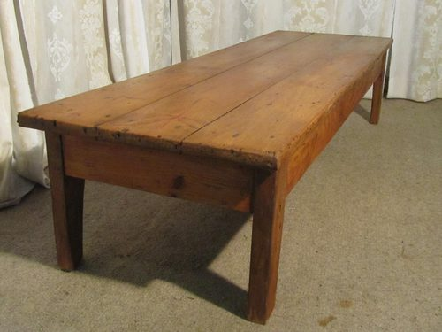 Rustic French Farmhouse Coffee Table Antiques Atlas