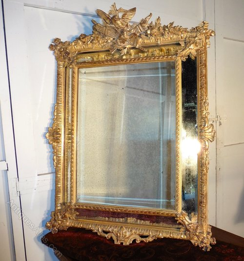 Antiques Atlas Shabby Gilt Napoleon Iii French Cushion
