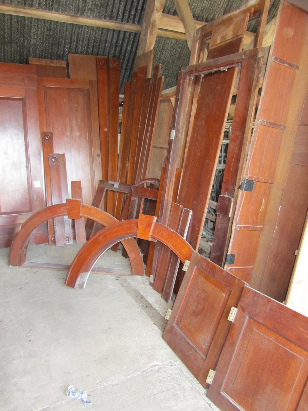 Antique Wood Paneling For Walls: Victorian Mahogany Wall Paneling