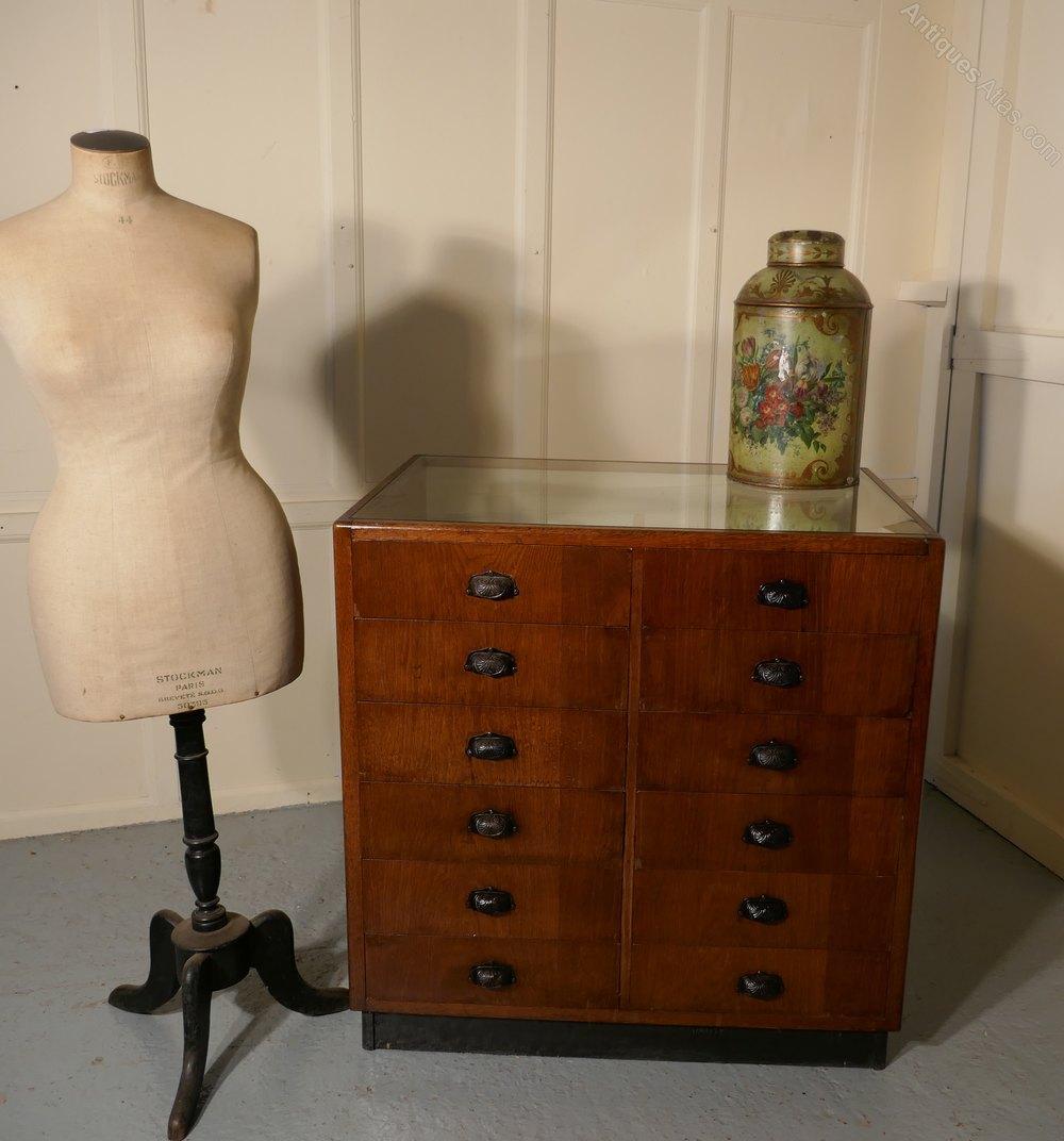vintage art deco haberdashery shop fitting antiques atlas. Black Bedroom Furniture Sets. Home Design Ideas