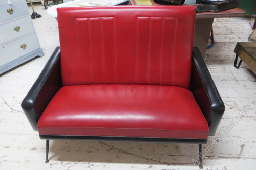 1950s Vinyl Sofa