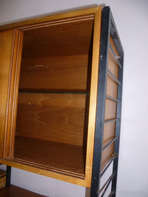Antiques Atlas 1970 S Ladderex Teak Wall Unit