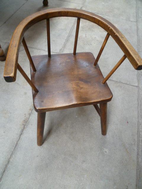 Antique Beech Childs Chair Antiques Atlas