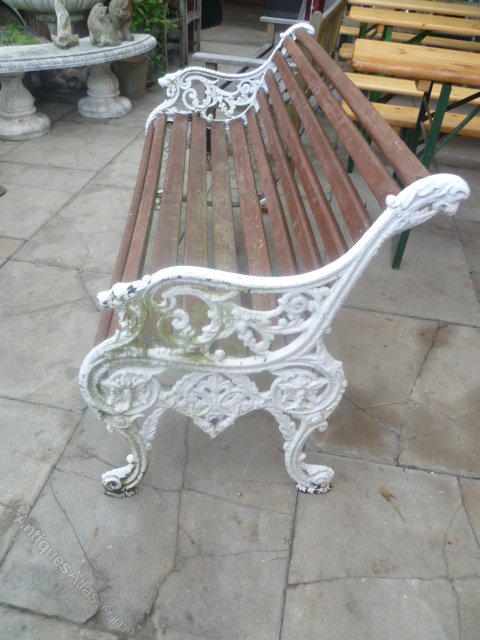 Antiques Atlas Antique Cast Iron Garden Bench Seat