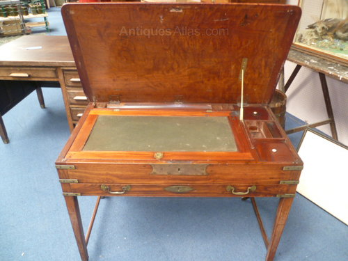 Antique Military Campaign Desk ... - Antique Military Campaign Desk - Antiques Atlas